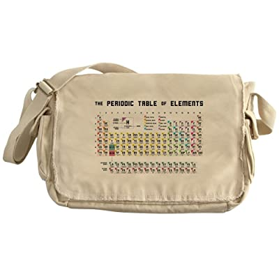 Cafepress The Periodic Table Of Elements Unique Messenger Bag