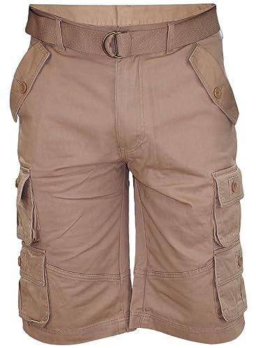 LLX Mens 1311 Bermuda Combat Cargo Pocket Shorts
