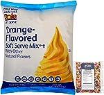 Dole Orange Lactose-Free Soft Serve Mix 4.4 Pound Bulk Bag with