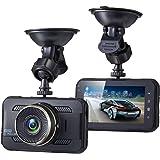 "Sebikam 3.0"" Full HD Car Dash Cam 170 Degree Wide Dashboard Camera with 3"" Screen, G-Sensor, Parking Mode, Loop Recording, Night Mode and More"