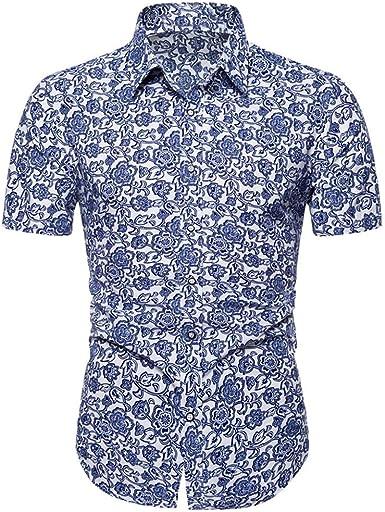 Camisas Formales para Hombre Camisas Hombre Manga Corta ...