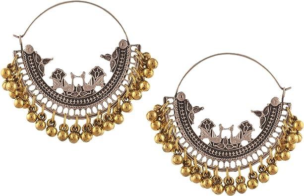 Oreleaa Fashion Handmade Lightweight Beaded Hook Earrings for Girls