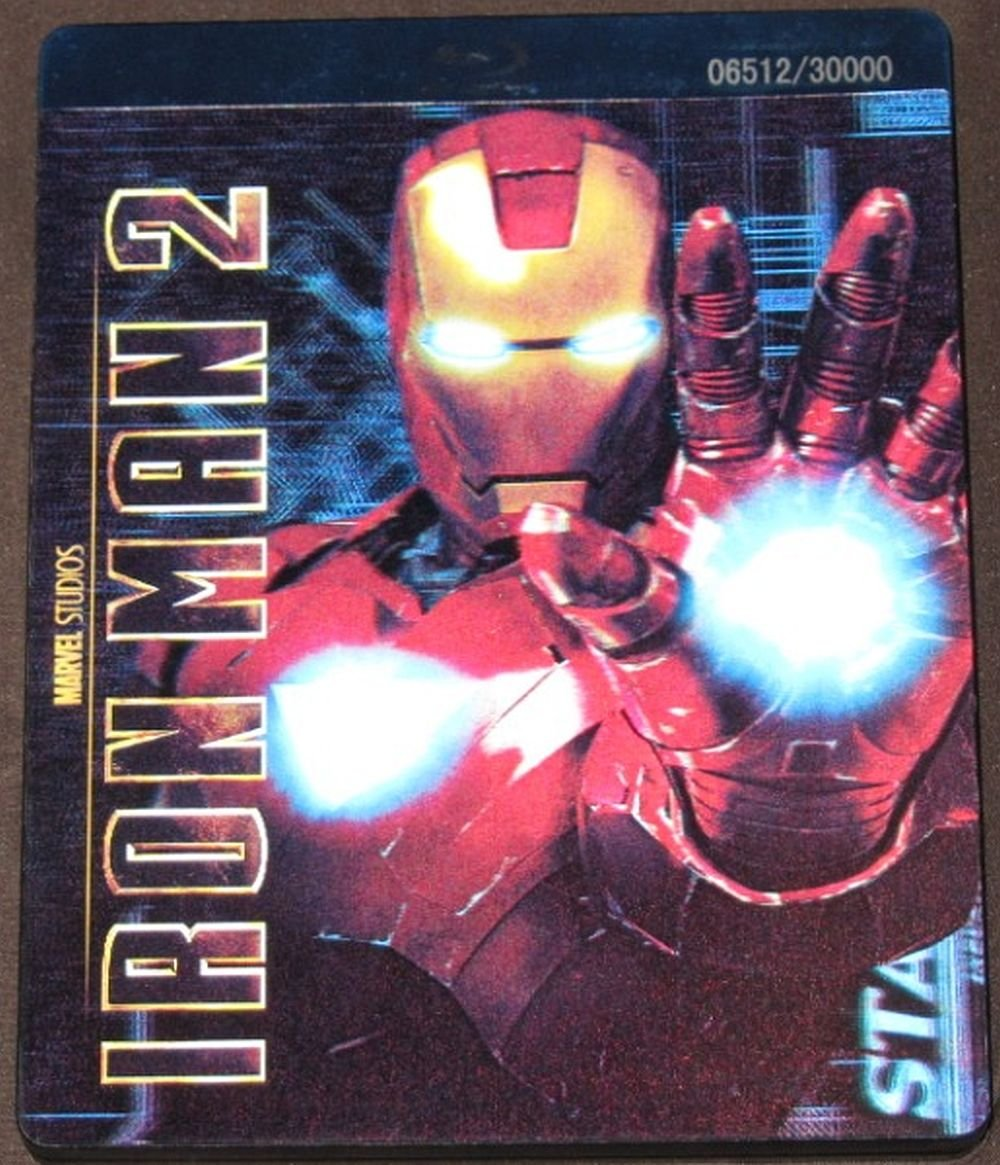Amazon.com: Iron Man 2: 3-Disc Combo Pack (Limited Edition with ...