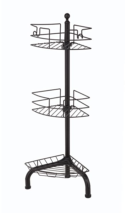 Amazon.com: Home Zone CAD6099V 3 Tier Oil-Rubbed Bronze Finish ...