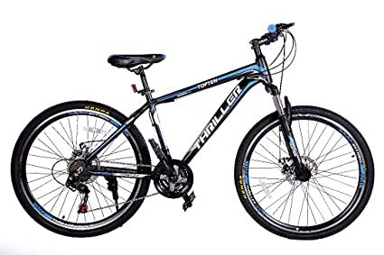 Thriller Sports Bicycles TOPTEN Alloy Black and Blue: Amazon in