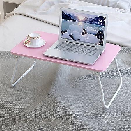 Escritorio para Laptop Mesa Moderna Minimalista Azul Cama Plegable ...