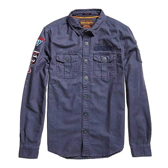 f519c316 Superdry Military Storm, Shirt for Men: Amazon.co.uk: Clothing