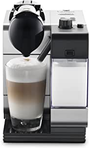 Nespresso by De'Longhi EN520SL Lattissima Plus Espresso and Cappuccino Machine with Nespresso Capsule System, Silver