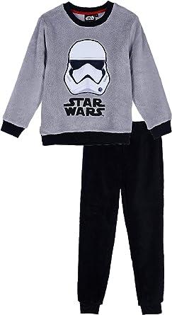 Suncity Pijama coralina Gris Star Wars 100% Poliester 8 años ...