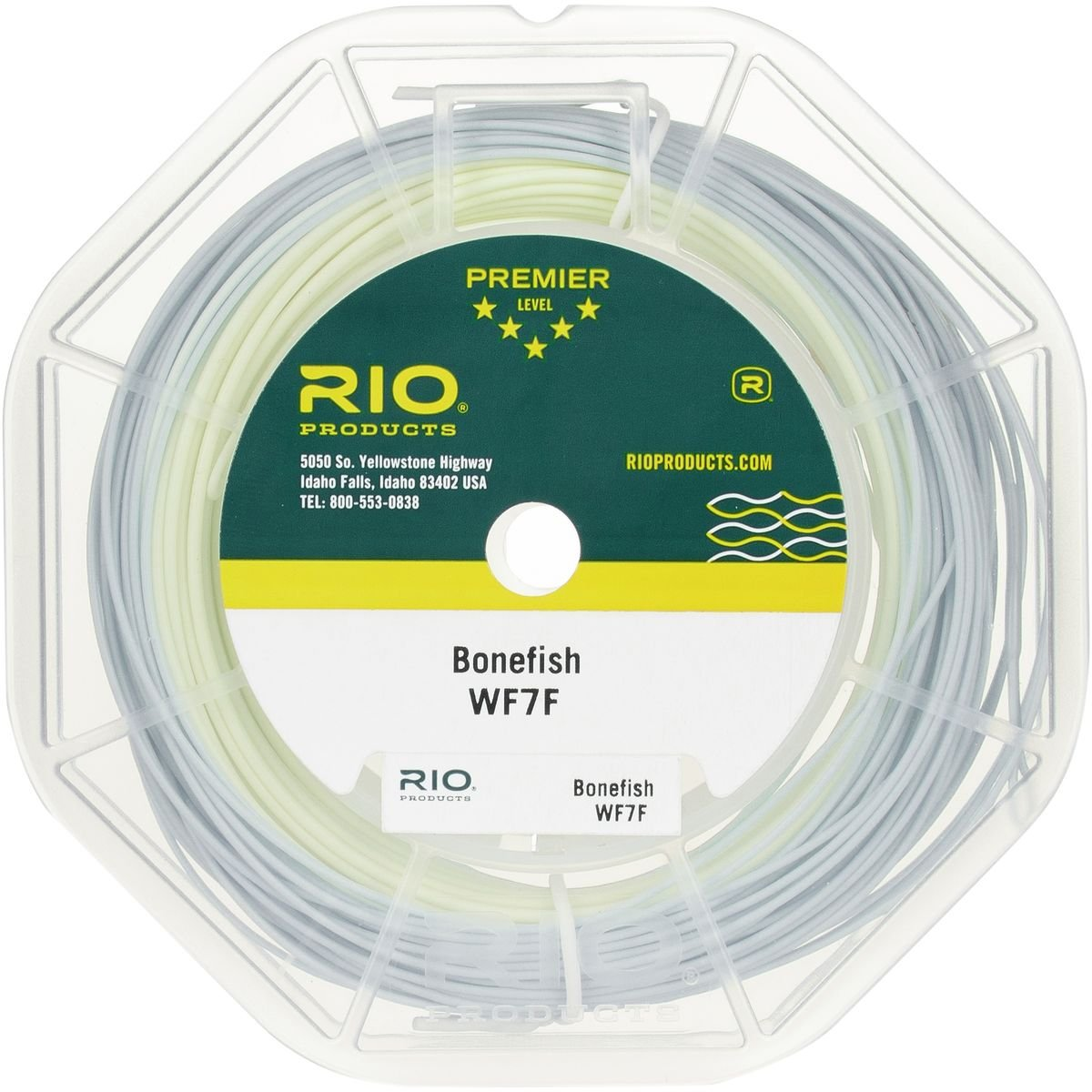 Rio : Bonefish Fly Line B001R61DVG WF8F|ブルー ブルー WF8F