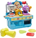 MATTEL FYK55 Fisher-Price Busy Learning Tool Bench,Multicolor