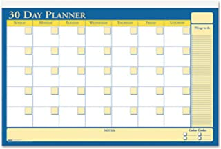 product image for House of Doolittle Plan-A-Board 30/60 Day Non-Dated Laminated Planner Reversible 48 x 32 Inch (HOD6311)