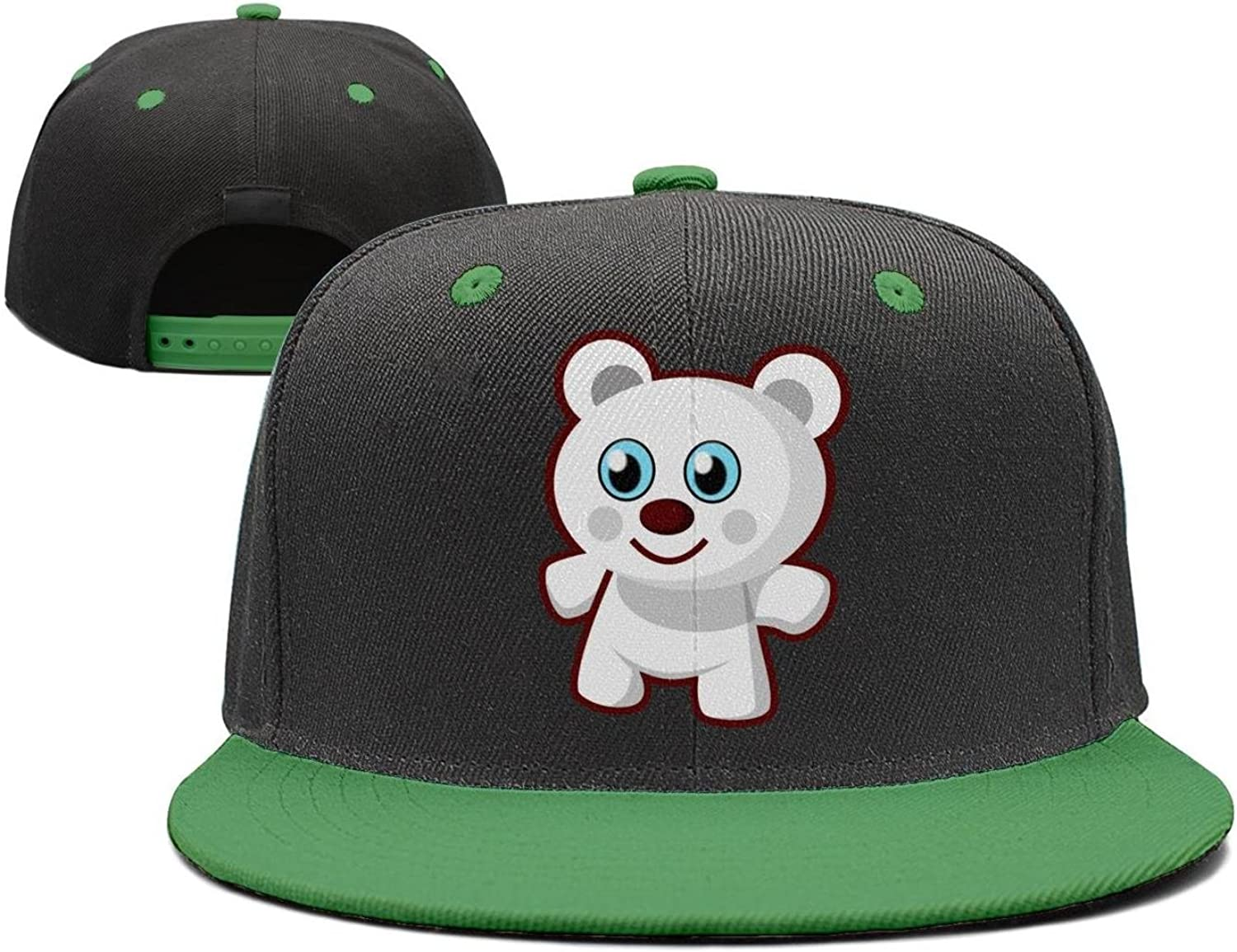 Coolhat Womens Mens Toy Bear Graphic Adjustable Snapback Hat