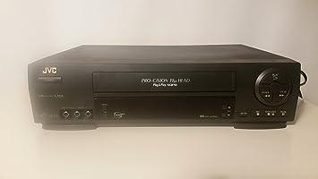 Amazon.com: JVC hr-vp58u 4 Head 19U Hi-Fi estéreo VCR Video ...