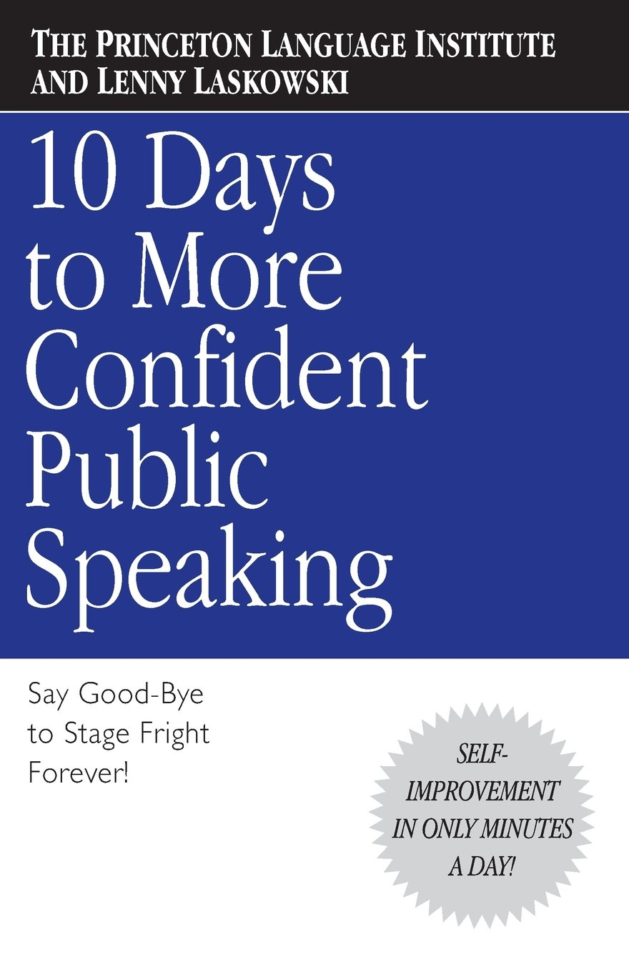 10 Days to More Confident Public Speaking pdf
