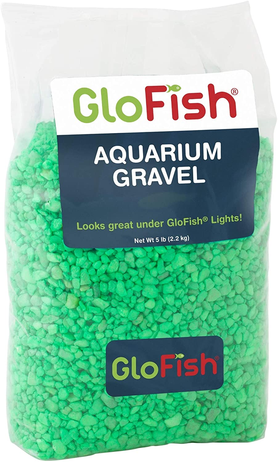 GloFish Aquarium Gravel, Fluorescent Colors, 5-Pound