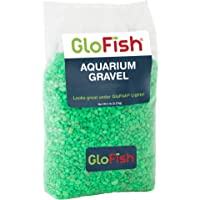 GloFish Aquarium Gravel, Green Fluorescent, 5-Pound Bag