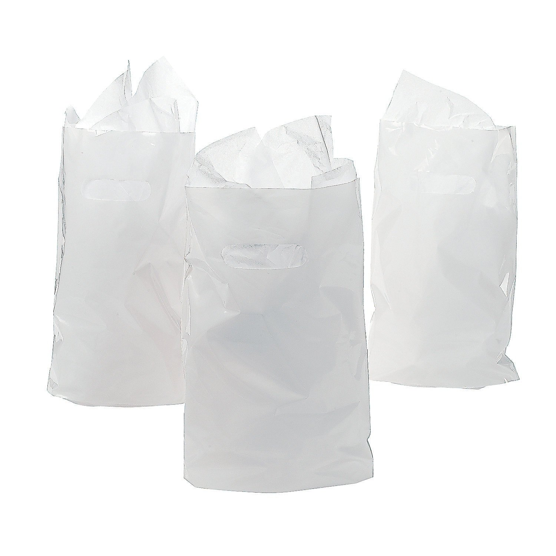White Treat Bags 50