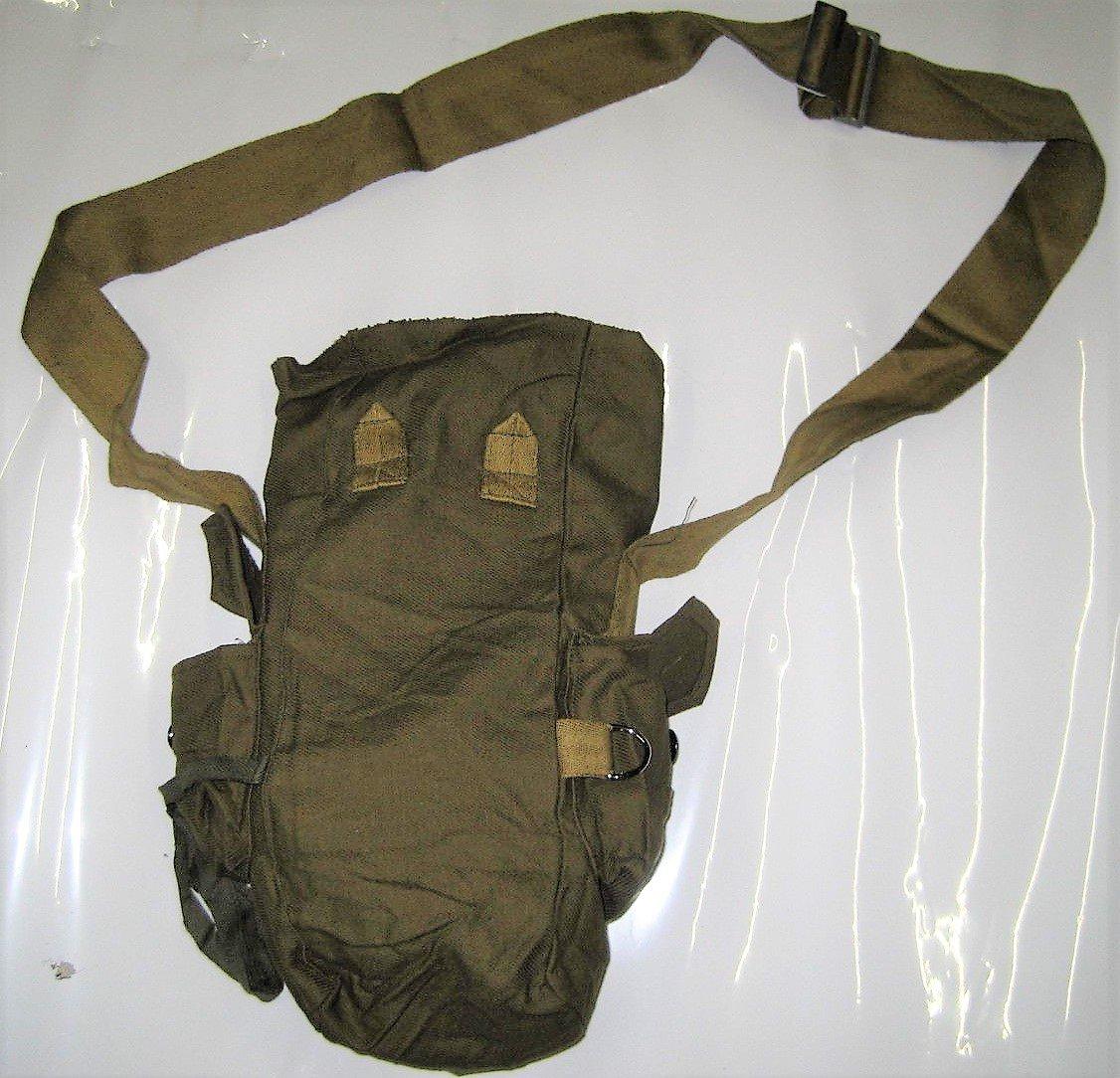 10 bolsillos Gas Máscara NVA, camping, exterior, Retro, Lenin, unión soviética, Ejército Rojo: Amazon.es: Deportes y aire libre