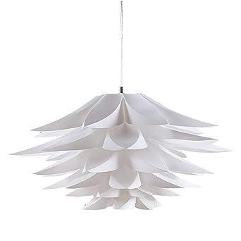 Hängeleuchte Rimon Lampenwelt Kunststoff Weiß Gemütlich Pendelleuchte Wohnzimmer