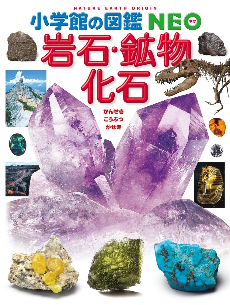 (Picture book NEO Shogakukan) picture book NEO rock, mineral and fossil Shogakukan (2012) ISBN: 4092172184 [Japanese Import] pdf epub
