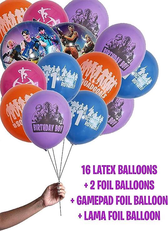 Amazon.com: BESTY - Juego de accesorios para fiestas, globos ...