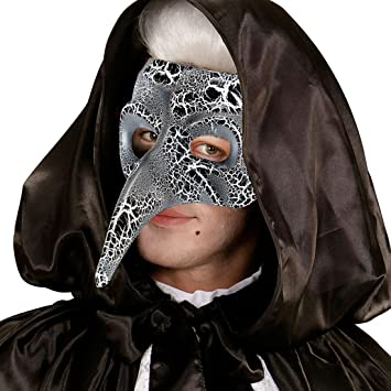 Amakando Máscara Doctor Peste | Careta Médico de la Peste Negra | Mascarilla Veneciana | Antifaz