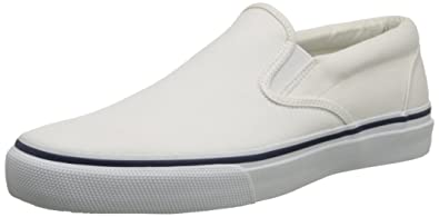 49ca8939ac Sperry Men s Striper Slip-On Boat Shoe
