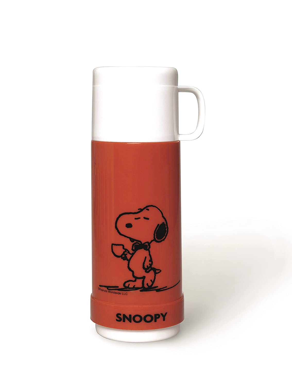 Excelsa Peanuts Thermos Snoopy Verde 10x9x25 cm Plastica