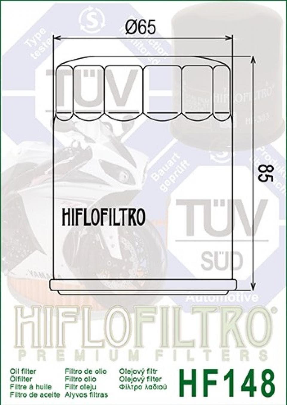 Filtre /à huile Hiflo Filtro pour Quad TGB 400 Target 4X4 2008-2010 Neuf