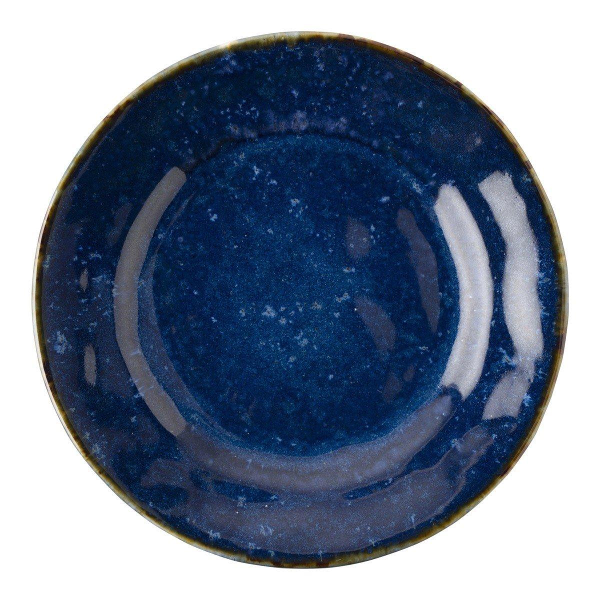 Juliska Puro Dappled Cobalt Side/Cocktail Plate