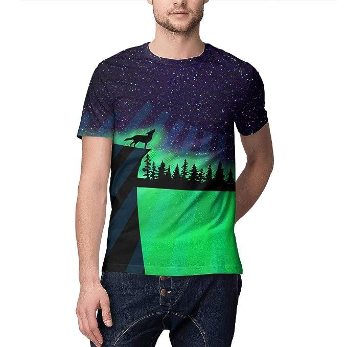 Amazon.com: Camiseta de manga corta para hombre con ...