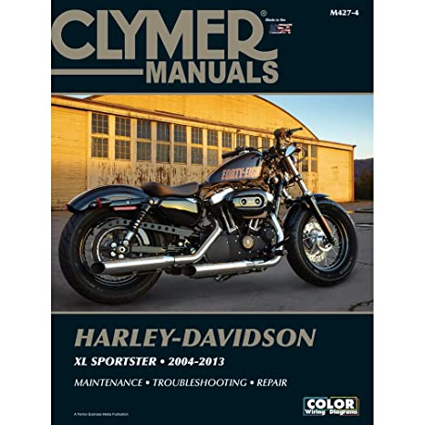 715FXc9fcoL._SX466_ amazon com clymer harley davidson xl883 & xl1200 sportster (2004 Harley Wiring Diagram for Dummies at eliteediting.co
