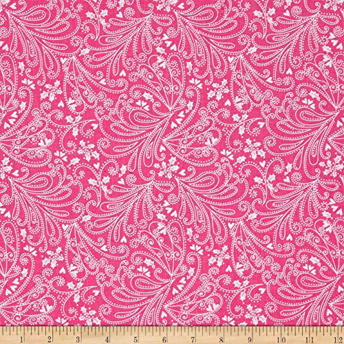 Michael Miller 0575747 Hollywood Pixie Paisley Candy Fabric by The Yard - Michael Miller Candy
