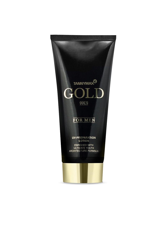 Tannymaxx Gold For Men Lotion Corps Résistante aux Rayons UV avec Accélérateurs de Bronzage 200 ml 0526010000