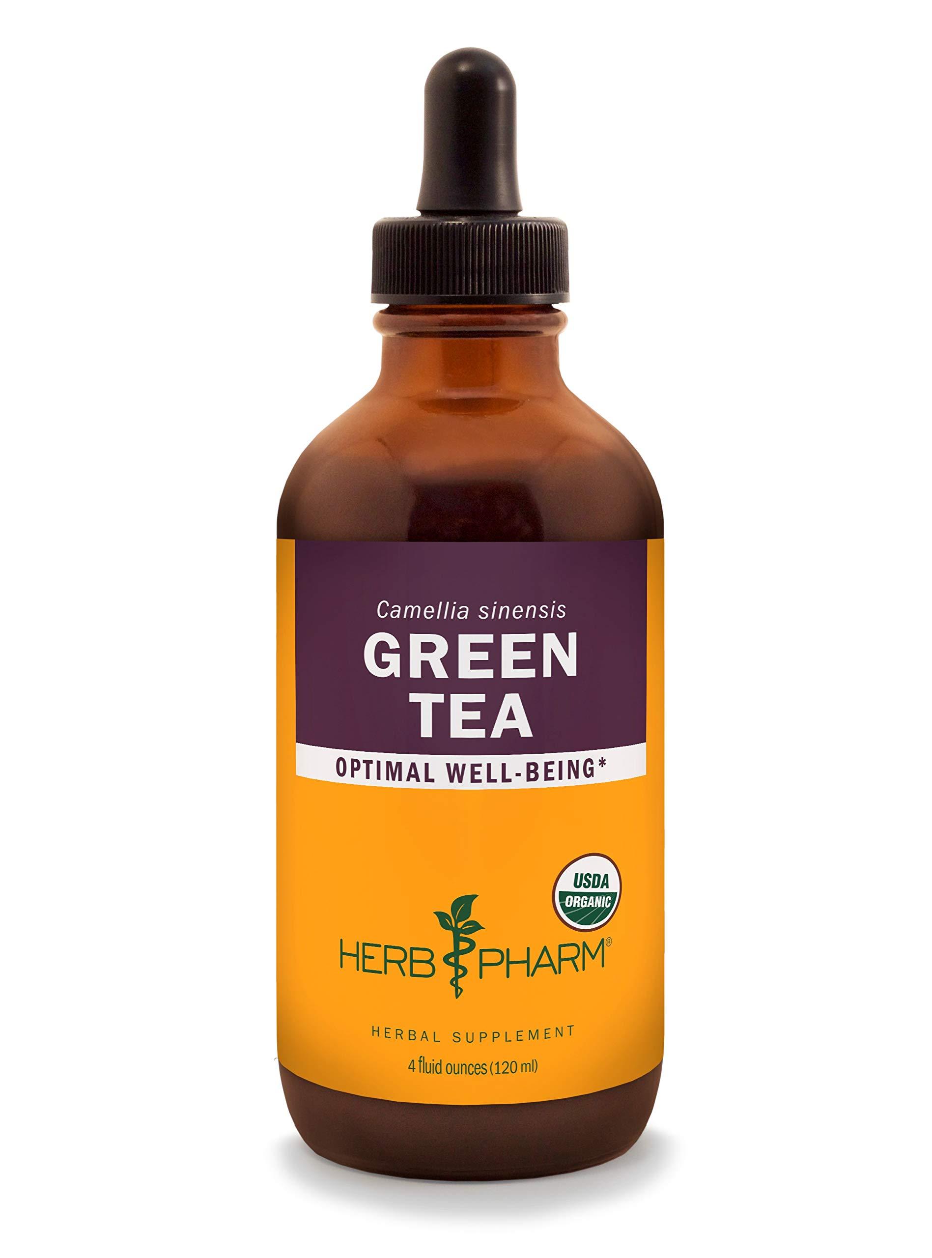 Herb Pharm Certified Organic Green Tea Liquid Extract - 4 Ounce