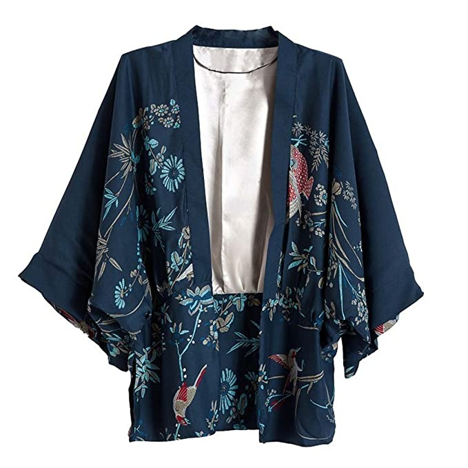 Vintage Coats & Jackets | Retro Coats and Jackets Kimono Cardigan Blouses  AT vintagedancer.com