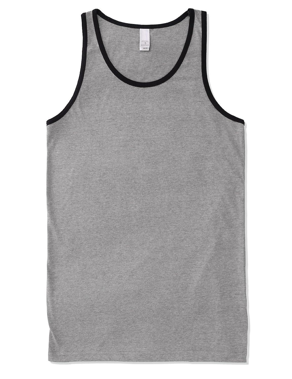 12145166546a0 Tank Tops JD Apparel Mens Premium Basic Solid Tank Top Jersey Casual Shirts  Size Upto 3XL