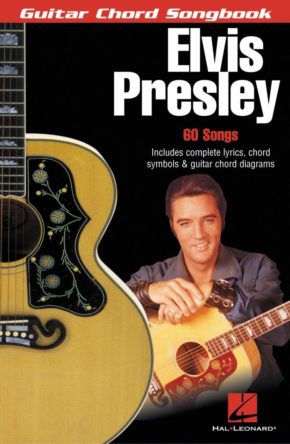 Amazon Hal Leonard Elvis Presley Guitar Chord Songbook