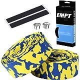 EMPT(イーエムピーティー) EVA ロード用 迷彩柄バーテープ ES-JHT020CF クッション製に優れたバーテープ ロード ピスト ドロップハンドルバーテープ ※エンドキャップ、エンドテープ付属