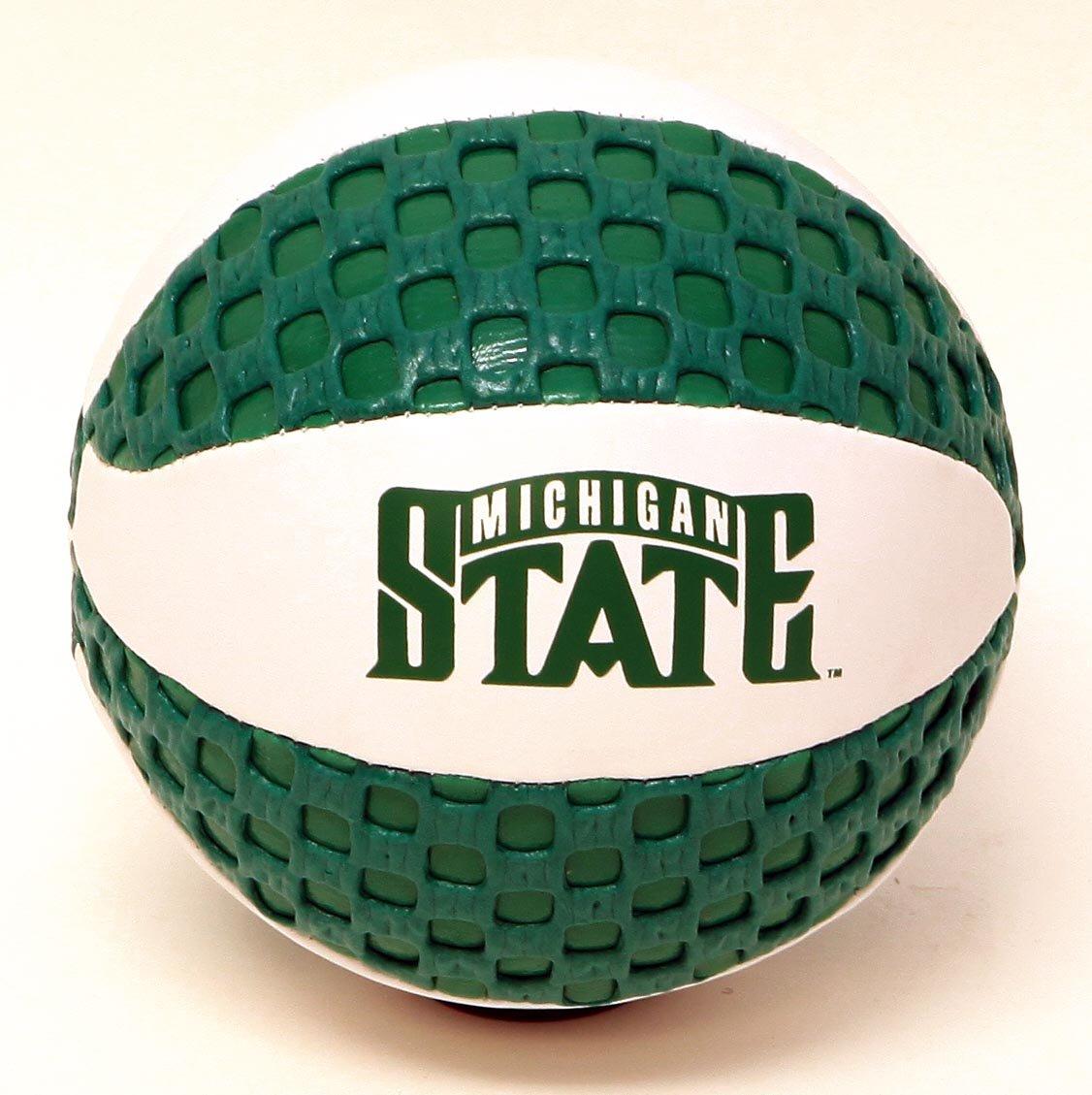 MSU Spartans Fun Gripper 5.5 Mini Basketball NCAA