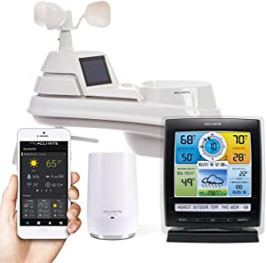 AcuRite Smart Weather Station with Remote Monitoring Compatible with Amazon Alexa (01012M)