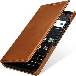 StilGut Book Type Case, custodia in pelle per BlackBerry Key2