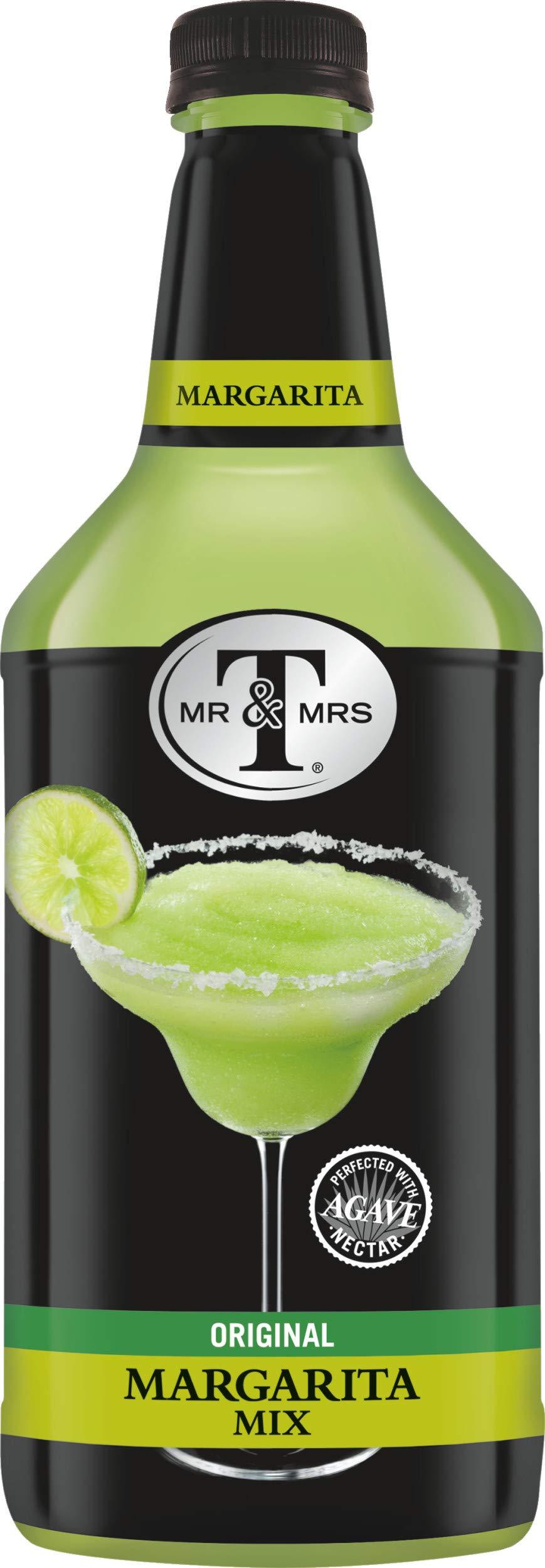Mr & Mrs T Margarita Mix, 1.75 Liter Bottle (Pack of 6)
