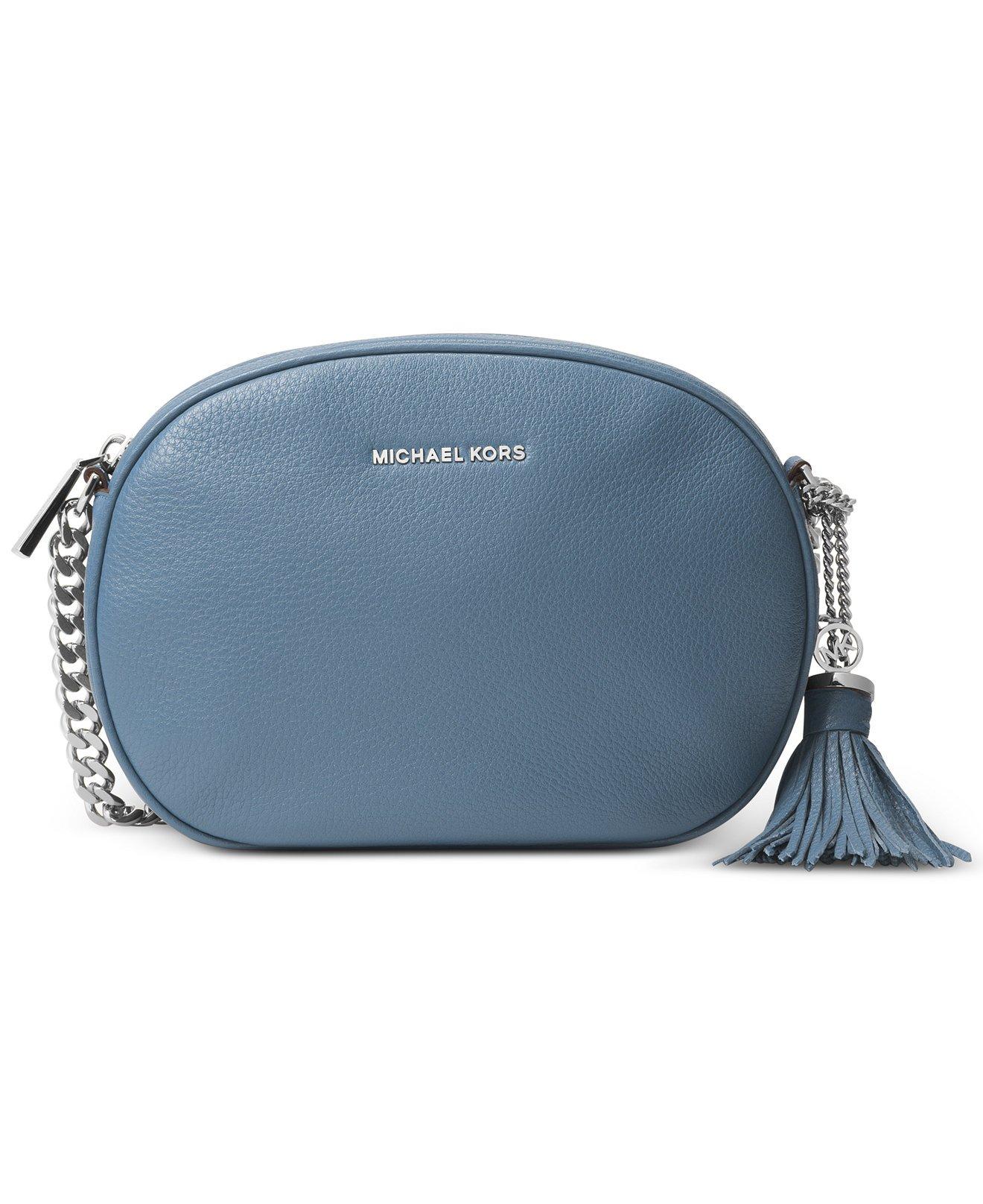 e2260c0de5f9 Galleon - Michael Kors Ginny Ladies Medium Leather Crossbody Handbag  30H6SGNM2L