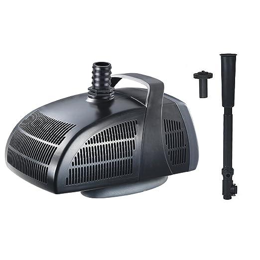 3 opinioni per Jebao PF-1000 Pompa Sommergibile Stagno con Allegati per Fontana 1000L/h
