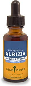Herb Pharm Albizia Liquid Extract for Nervous System Support - 1 Ounce