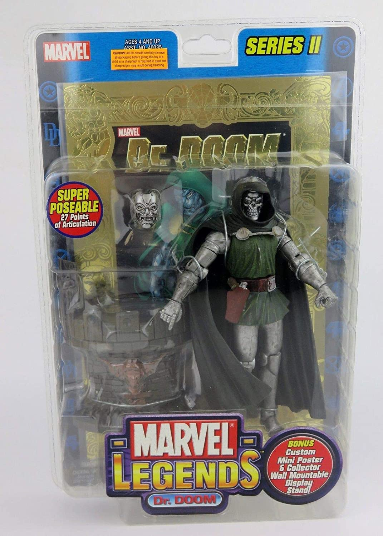 Marvel Legends Series 2 Dr. Doom Action Figure by Toy Biz: Amazon ...