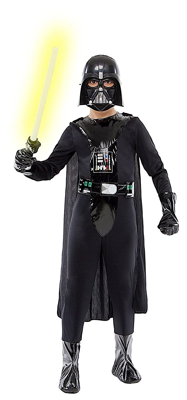 ropa nueva máscara de carnaval niño del bebé del bebé traje de cosplay Halloween personaje del juego de la película Star Wars Darth Vader guerreros en Los ...