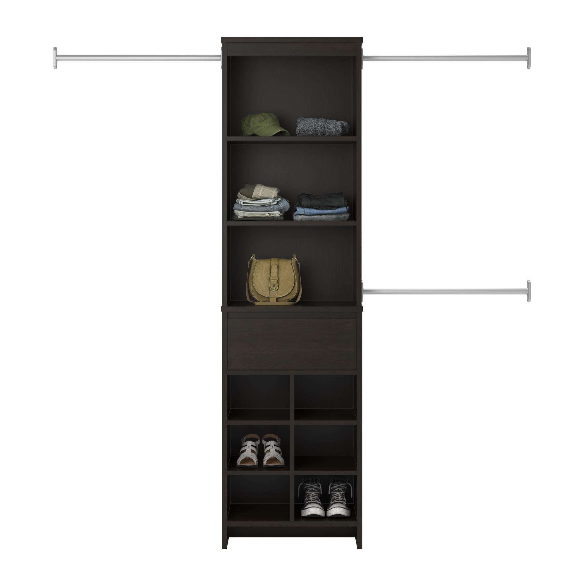 Ameriwood Home Adult Closet System, Espresso by Ameriwood Home (Image #7)